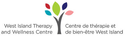 West Island Therapy and Wellness Centre. Sticky Logo